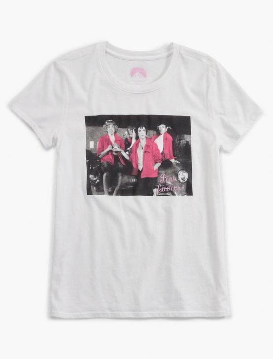 PINK LADIES PHOTO TEE, LUCKY WHITE, productTileDesktop