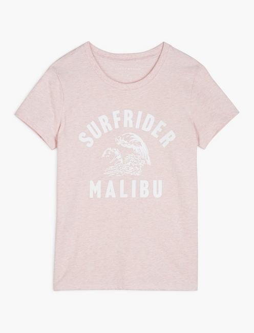 SURFRIDER MALIBU TEE, BLUSHING BRIDE
