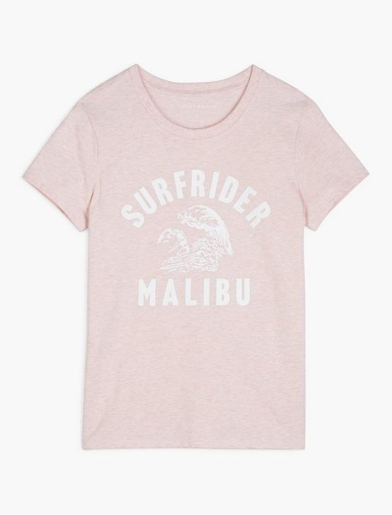 SURFRIDER MALIBU TEE, BLUSHING BRIDE, productTileDesktop