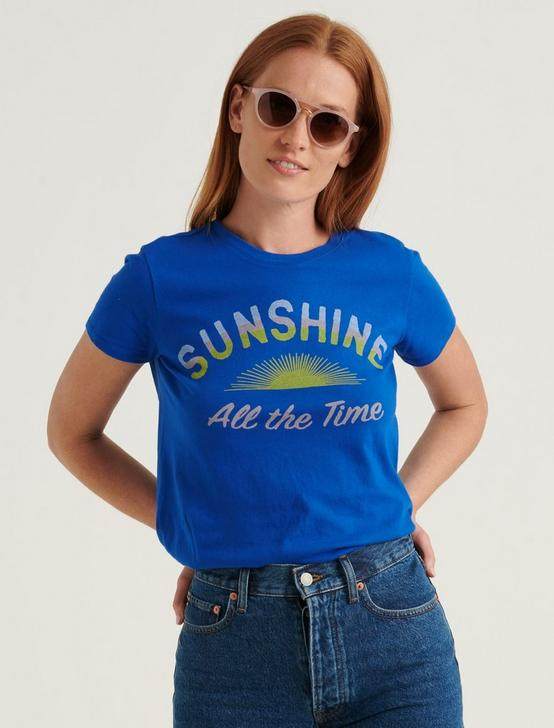 SUNSHINE ALL THE TIME TEE, SURF THE WEB, productTileDesktop