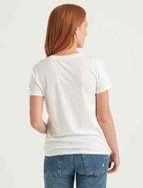 BY POPULAR DEMAND TEE, BRIGHT WHITE