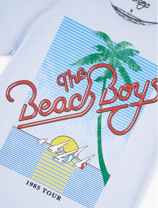 BEACH BOYS TEE, LIGHT BLUE MULTI, productTileDesktop