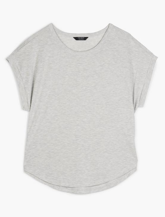 SANDWASH DOLMAN TEE, HEATHER GREY, productTileDesktop