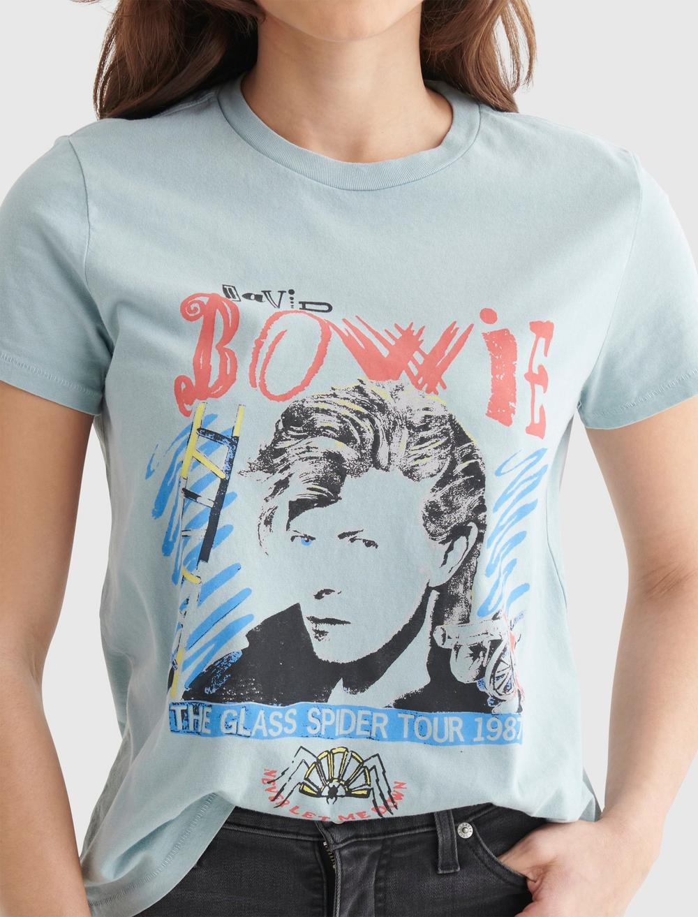 BOWIE 1987 TOUR CLASSIC CREW TEE, image 4