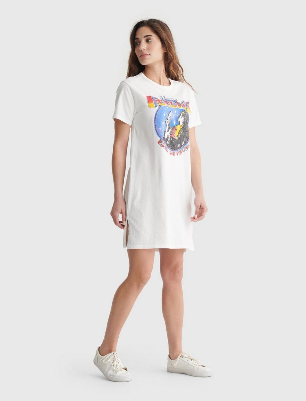 JIMI HENDRIX GRAPHIC T-SHIRT DRESS, image 2