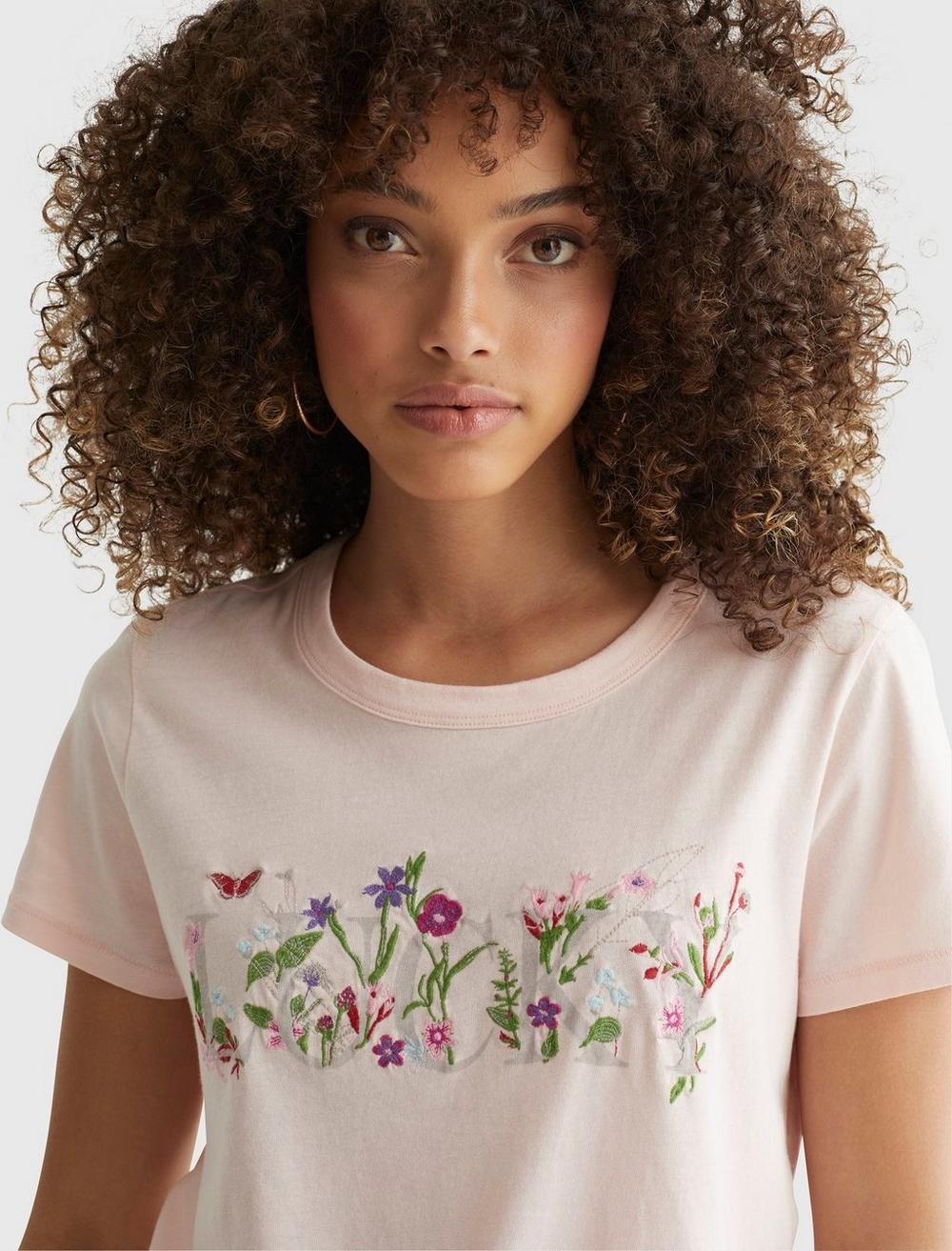 LUCKY EMBROIDERED CLASSIC CREW, image 5