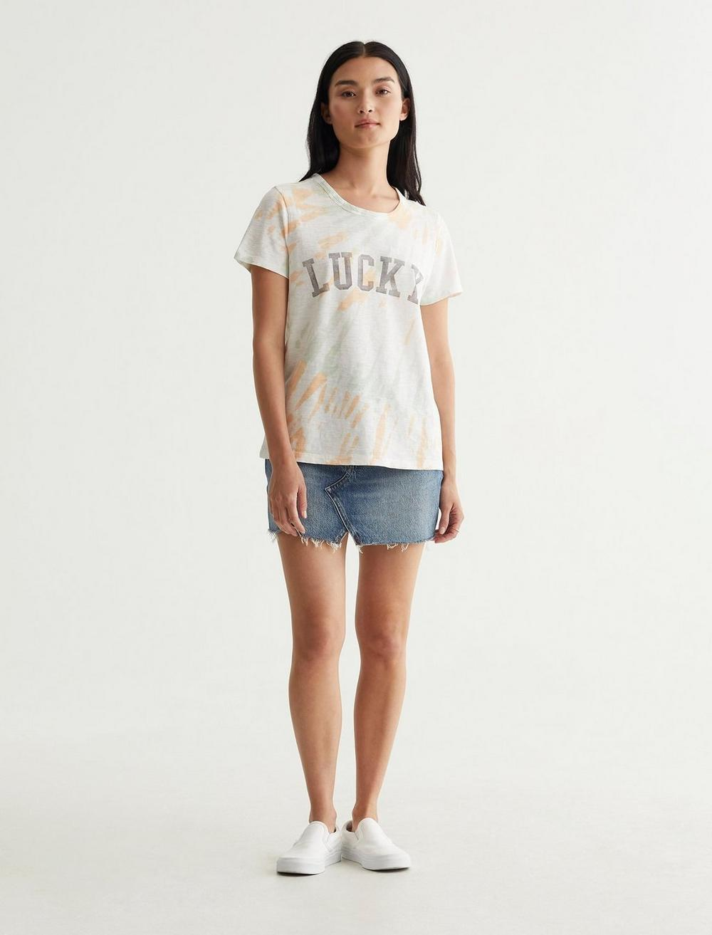 LUCKY FONT CLASSIC TEE, image 2
