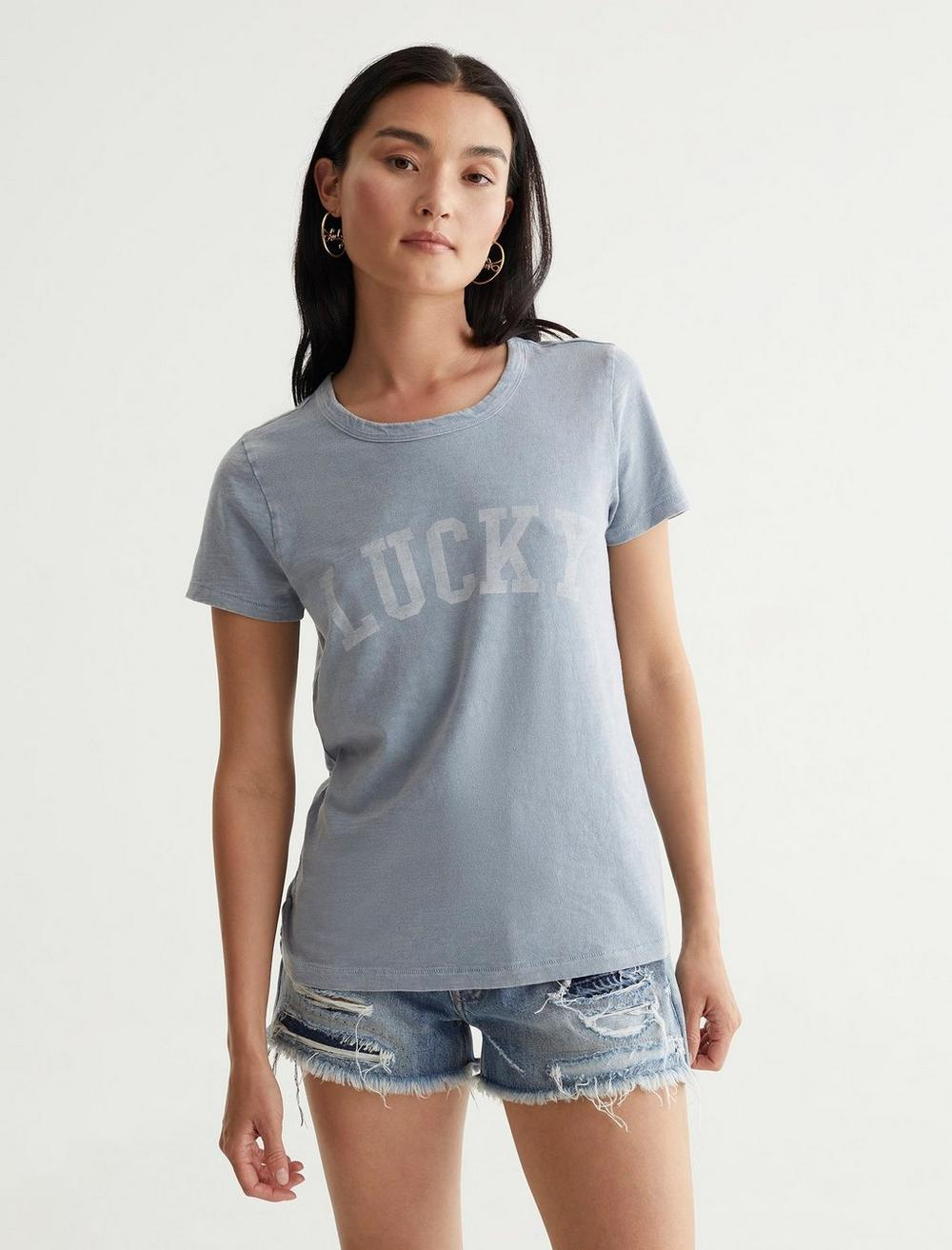 LUCKY FONT CLASSIC TEE, image 1