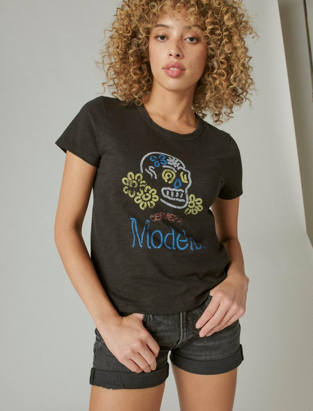 MODELO DAY OF THE DEAD CLASSIC GRAPHIC CREW, image 1