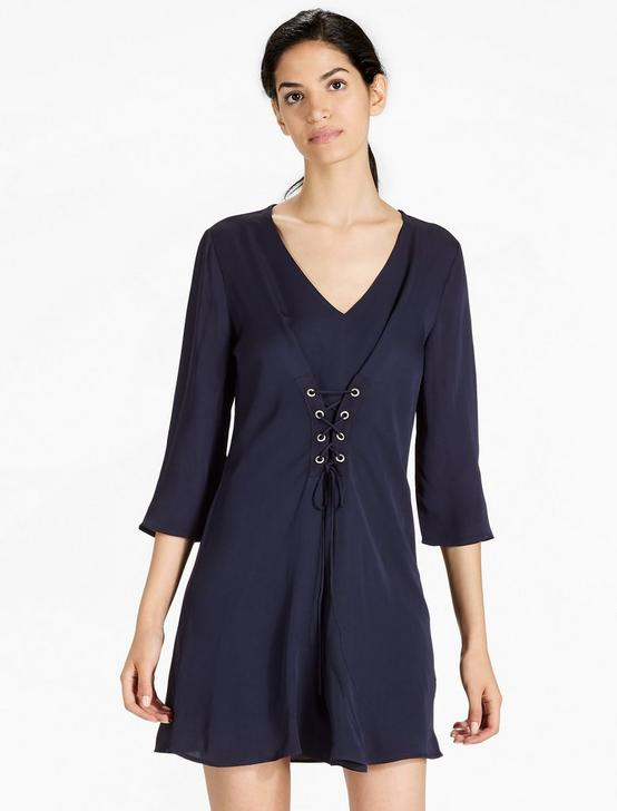 SHIRT DRESS, AMERICAN NAVY, productTileDesktop