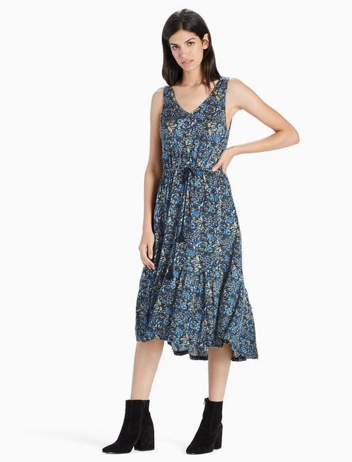 KNIT JACQUARD DRESS,