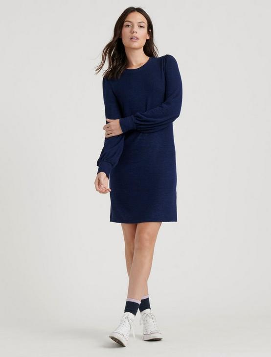CLOUD JERSEY DRESS, NAVY, productTileDesktop
