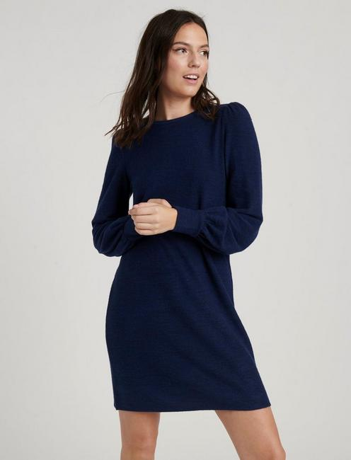 CLOUD JERSEY DRESS, NAVY