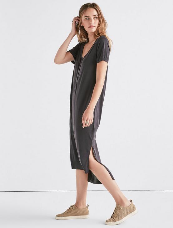 SANDWASH TEE DRESS, 001 LUCKY BLACK, productTileDesktop