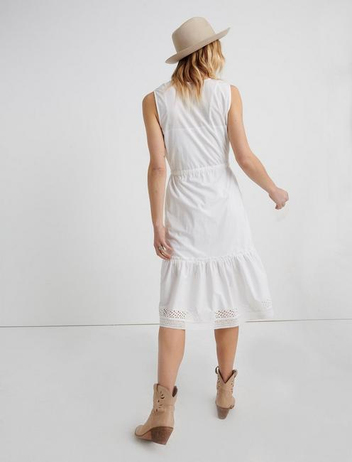 SOPHIA DRESS, LUCKY WHITE