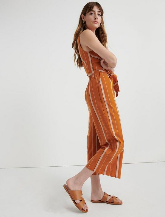 BLAKE STRIPE JUMPSUIT, TAN MULTI, productTileDesktop