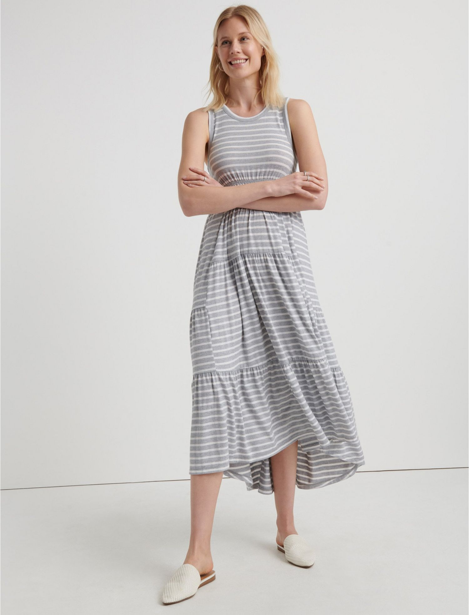 f266f46ee9e RUCHED MAXI DRESS - Lucky Brand - Canada