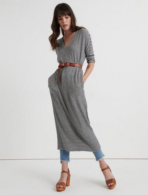 Cloud Jersey Long Sleeve Dress