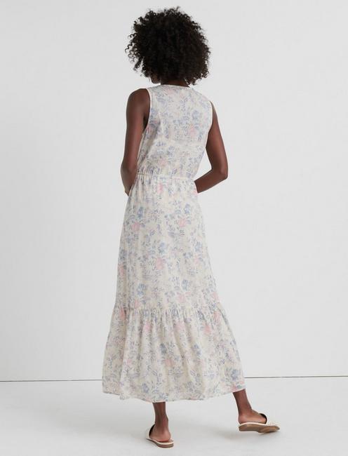 CLOE MAXI DRESS, NATURAL MULTI