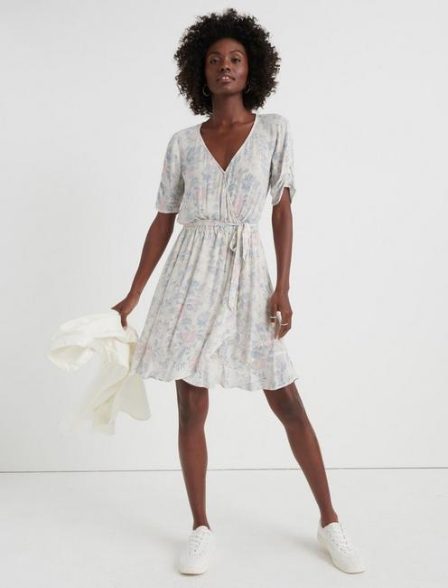 FLORAL PRINTED DRESS,