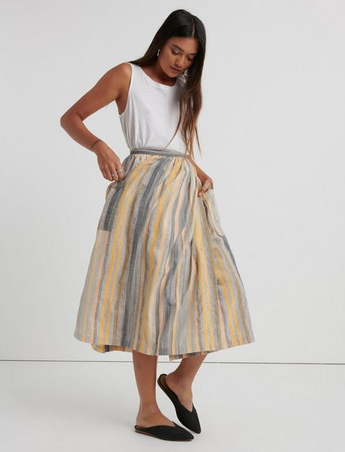 GIGI APRON SKIRT, MULTI