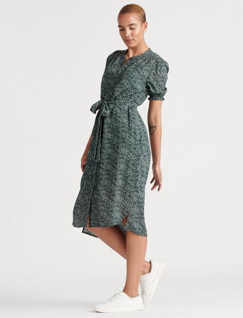DAKOTA DRESS, GREEN MULTI