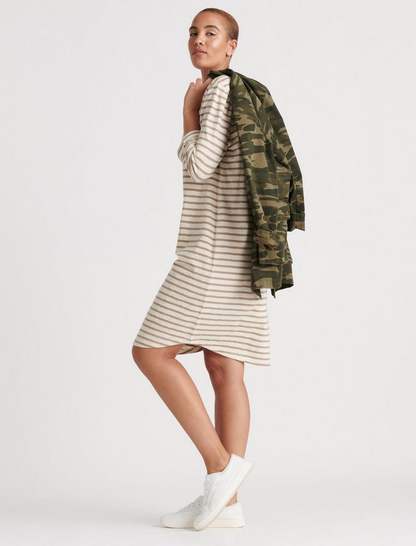 STRIPE TEE DRESS, image 3