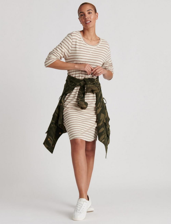 STRIPE TEE DRESS, image 5