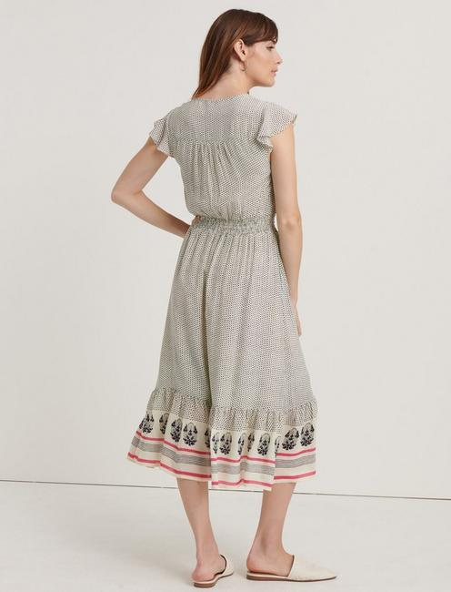 FELICIA DRESS, NATURAL MULTI