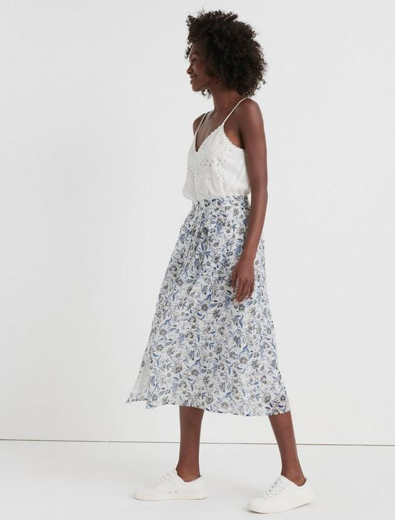 KARLIE SKIRT, NATURAL MULTI, productTileDesktop