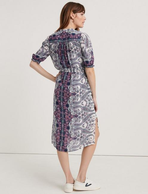 DAKOTA DRESS, PURPLE MULTI