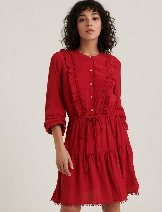 PARKER RUFFLE DRESS, SCOOTER, productTileDesktop