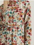 CHELSEA UTILITY DRESS, NATURAL MULTI