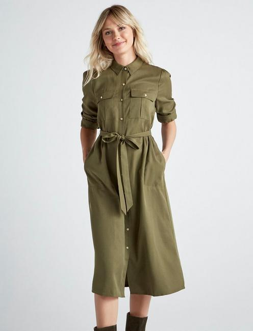 CHELSEA UTILITY DRESS,