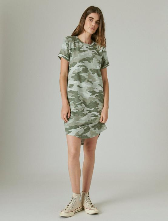 CLOUD JERSEY TEE DRESS, CAMO (ARMY COLORS), productTileDesktop