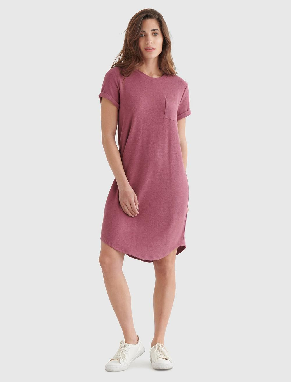 CLOUD JERSEY TEE DRESS, image 1