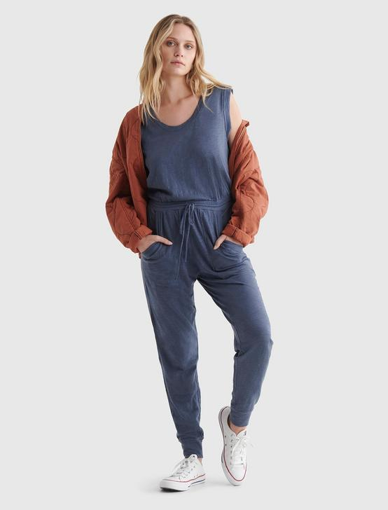 SLEEVELESS UTILITY-POCKET JUMPSUIT, GRISAILLE, productTileDesktop