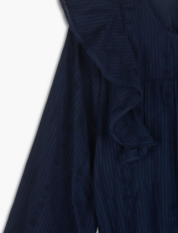 CHARLIE RUFFLE MINI DRESS, image 2
