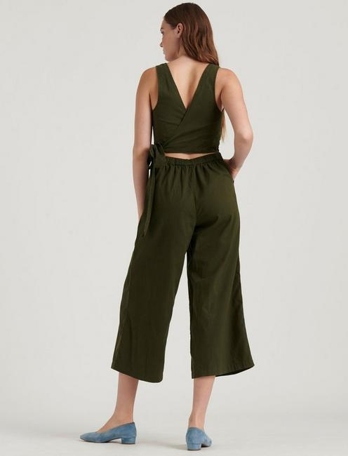 BLAKE JUMPSUIT, GRAPE LEAF