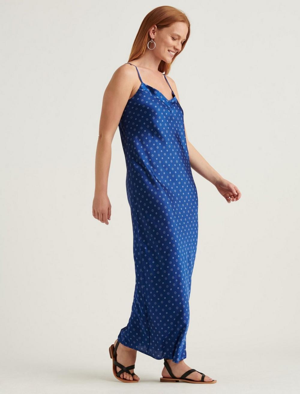 NATALIE SLIP MAXI DRESS, image 2
