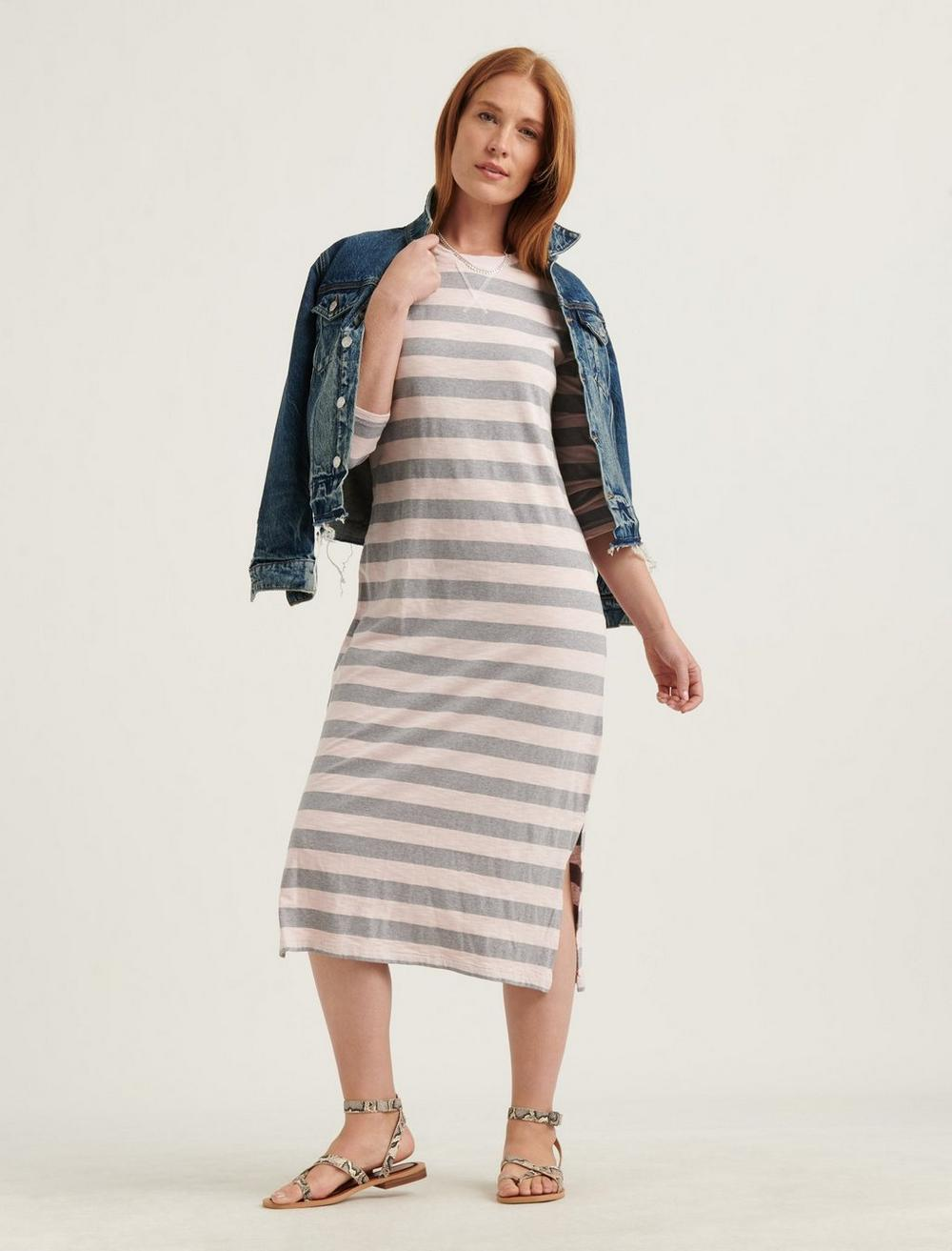 GARMENT DYED RUGBY DRESS, image 1