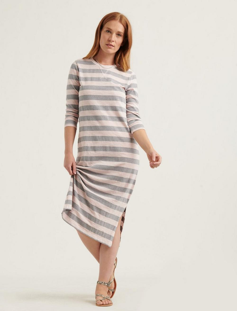 GARMENT DYED RUGBY DRESS, image 4