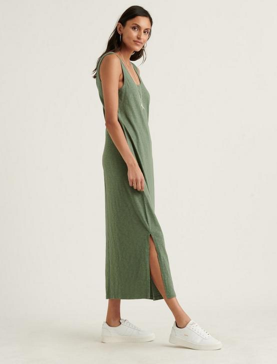 EASY KNIT MAXI DRESS, LAUREL WREATH, productTileDesktop