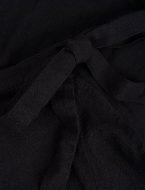 KIRA WRAP SKIRT, 001 LUCKY BLACK