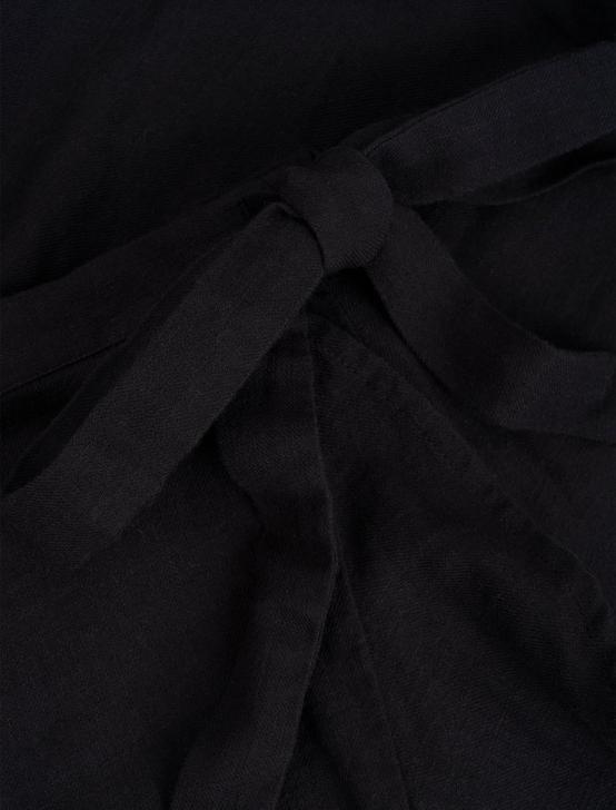 KIRA WRAP SKIRT, 001 LUCKY BLACK, productTileDesktop