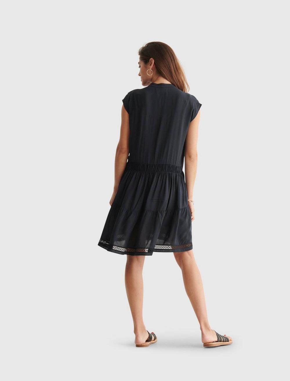 LACE INSET DRESS, image 3