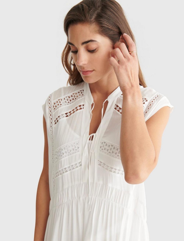 LACE INSET DRESS, image 4