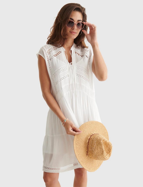 LACE INSET DRESS, image 5