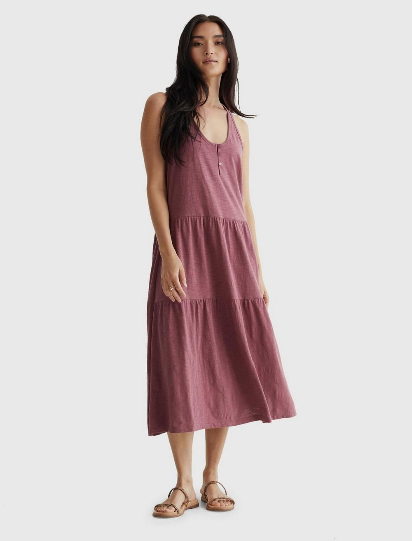 TIERED MAXI DRESS, image 1