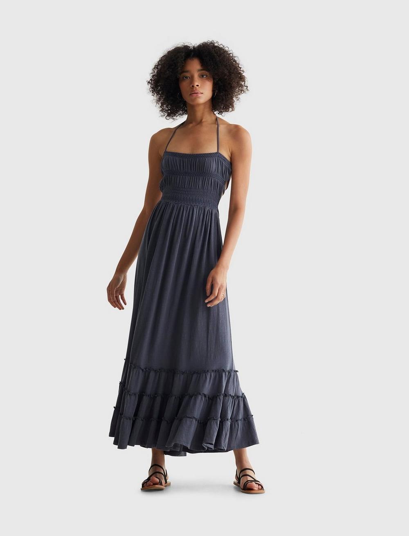 BOHO KNIT MAXI DRESS, image 1